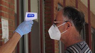 Toma de temperatura previa a la realización de PCR aleatoria