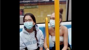 Identificadas las tres adolescentes implicadas en el incidente racista del Metro difundido en redes
