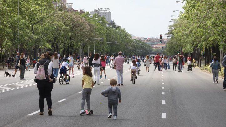 Una docena de calles vuelven a ser peatonales este fin de semana