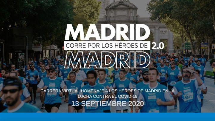 'Madrid corre por Madrid' será virtual y homenajeará a las víctimas del Covid