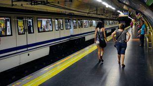 Anden Linea 5 estación metro Pueblo Nuevo