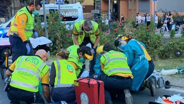 Un niño de 11 años, grave tras ser atropellado en Hortaleza