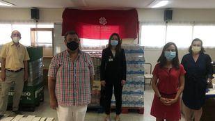 Mercadona dona a Cáritas Arroyomolinos y Loranca productos de primera necesidad