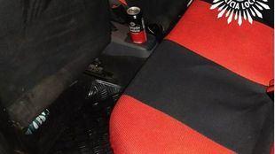El conductor fue arrestado por beber cerveza y triplicar la tasa de alcohol permitida