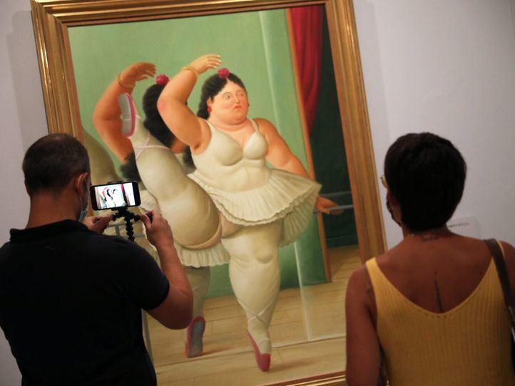 La pintura de Botero, en CentroCentro