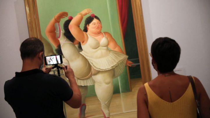Los singulares volúmenes de la pintura de Botero, expuestos en CentroCentro