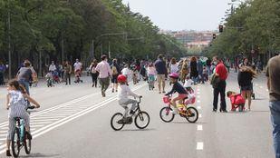 Madrid hará peatonales este domingo 27 tramos de calles en 21 distritos