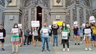 El Sindicato de Estudiantes suspende las concentraciones de este jueves por el auge de contagios y mantiene la huelga
