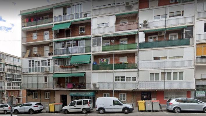 Calle Artajona, lugar donde se produjeron los hechos