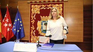 Inmaculada Sanz, portavoz del Ayuntamiento y delegada de Seguridad y Emergencias.