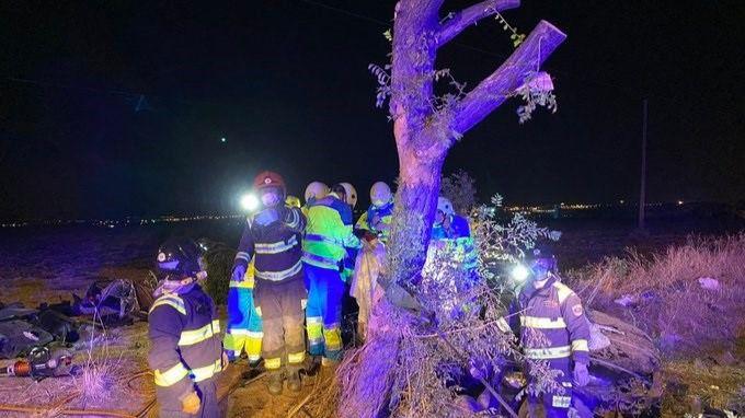 Pasan a disposición judicial los detenidos por el accidente en el que murieron tres personas en Móstoles