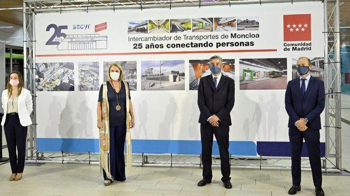Sacyr lanza el 'Reto Deja Tu Huella' en el 25 aniversario del Intercambiador de Moncloa