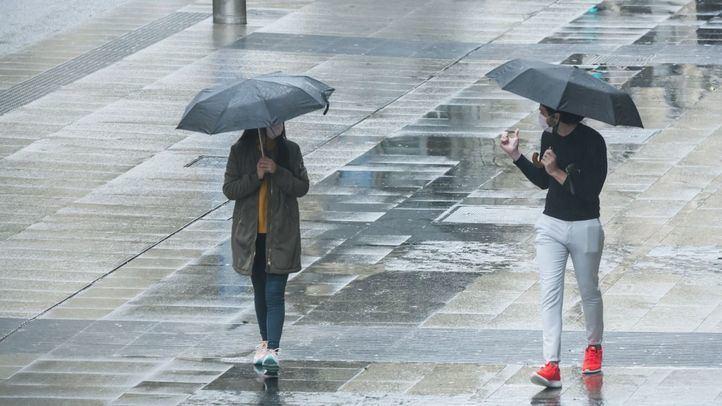 La lluvia continuará siendo la protagonista este viernes