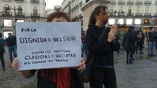 Protestas en Sol por las medidas restrictivas