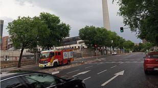 La lluvia obliga a los bomberos a realizar más de 180 intervenciones en Madrid