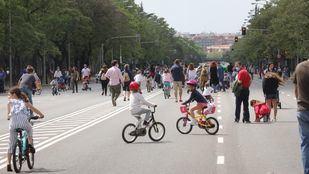 Madrid peatonaliza desde mañana 27 tramos de calles repartidas por los 21 distritos