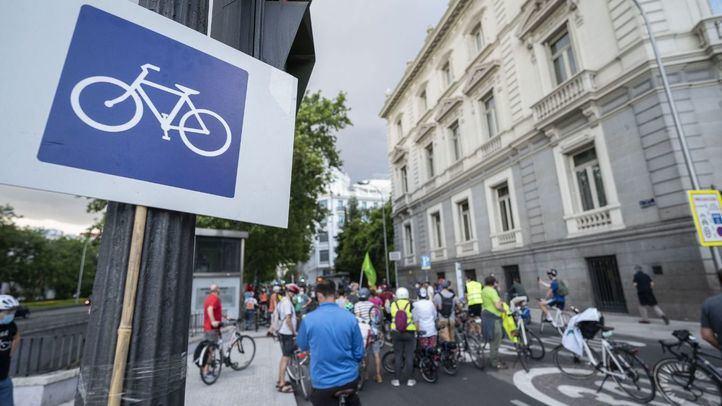 El Ayuntamiento de Madrid estudia alternativas para el carril bici de la Castellana hasta fin de año