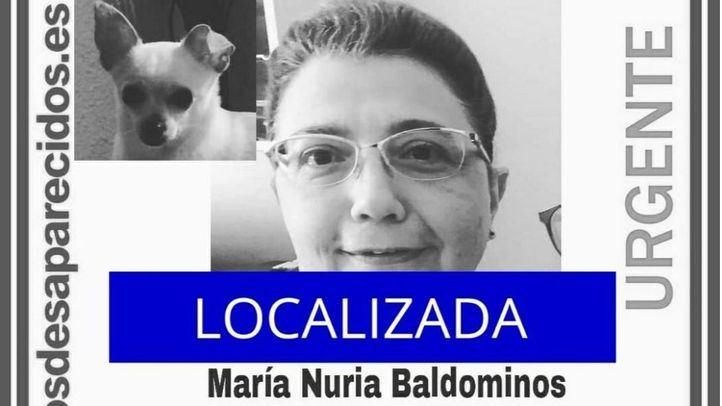 Localizada la mujer de 55 años que desapareció cuando salió a pasear a su perro