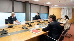 Primera reunión del Grupo COVID-19, creado por el Gobierno de la Comunidad de Madrid y el Gobierno de España