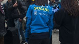 Trabajadora del Samur Social