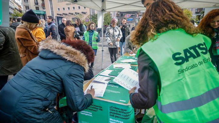 Moderado optimismo de SATSE Madrid tras las soluciones a las que se compromete Ayuso