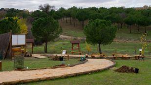 Arboreto del CREAS de Pozuelo de Alarcón.