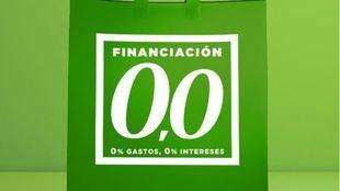 """El Corte Inglés lanza """"Financiación 0,0"""" para facilitar a los clientes sus compras este otoño"""