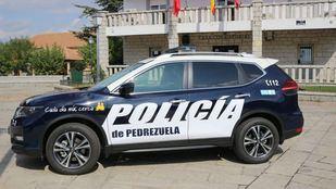 Coche de la Policía Local de Pedrezuela