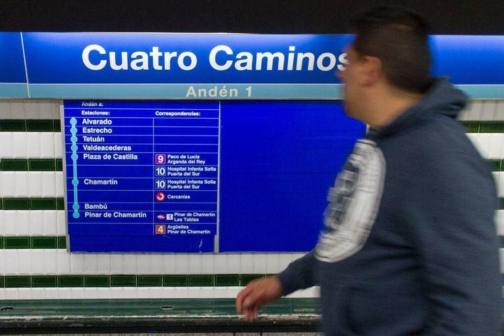 Metro modernizará la estación de Cuatro Caminos