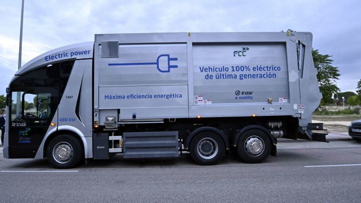 FCC presenta su nuevo camión recolector ie-URBAN cien por cien eléctrico