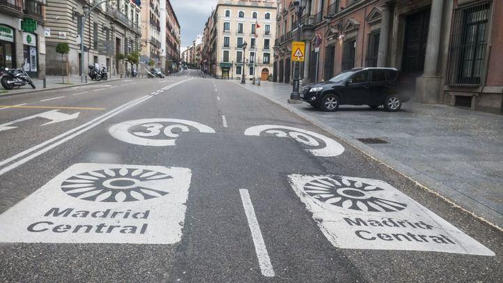 Un juez se escuda en el 'vaivén normativo' para anular una sanción a un conductor por acceder a Madrid Central