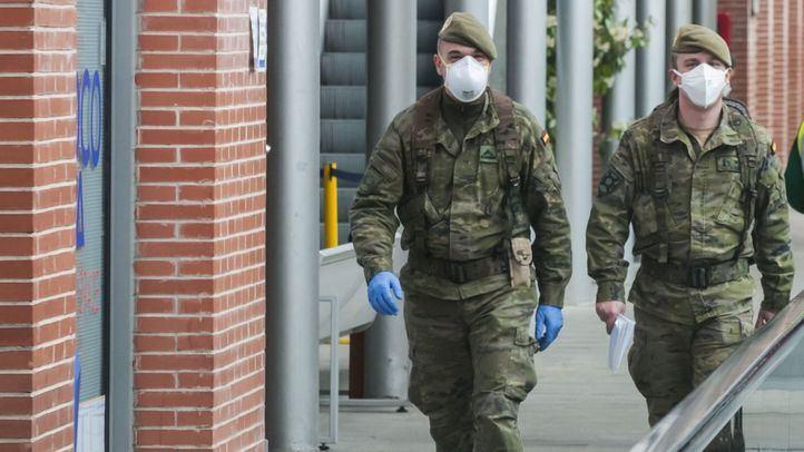El Ejército comienza a actuar en la Comunidad de Madrid con 64 militares en dos secciones de rastreadores