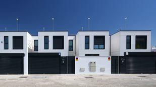 Fachada principal viviendas unifamiliares
