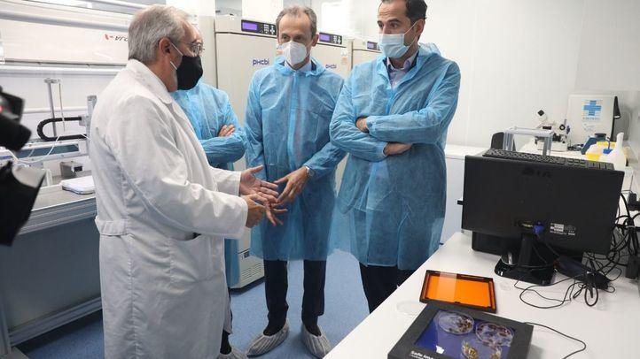Inaugurada la nueva sede de la biotecnológica Algenex en Tres Cantos