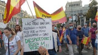 La Delegación del Gobierno prohíbe una manifestación de negacionistas en Colón