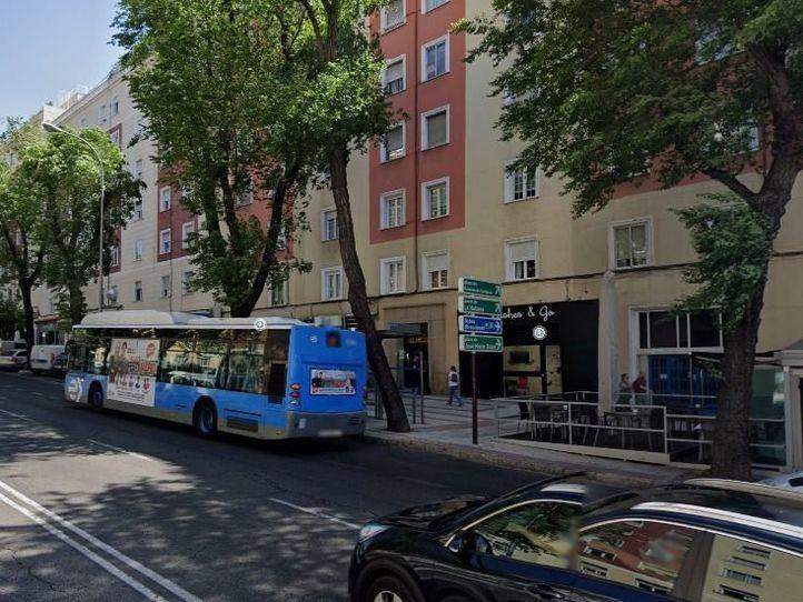 Calle Príncipe de Vergara 285, lugar del suceso