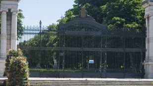 Parque del Retiro, cerrado