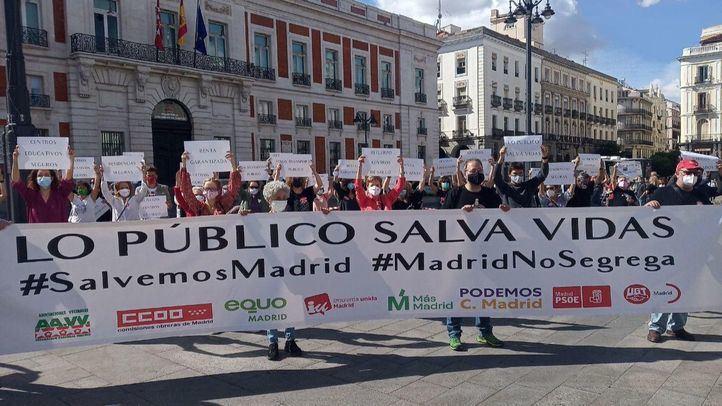 Madrid se moviliza contra las medidas