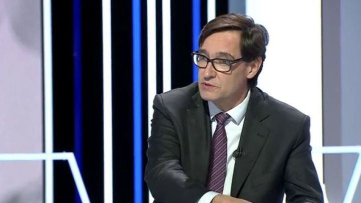 El Ministro de Sanidad durante su entrevista en La Sexta