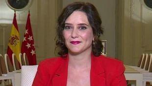 La presidenta de la Comunidad de Madrid en Antena 3