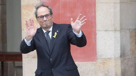 Quim Torra, president de la Generalitat catalana