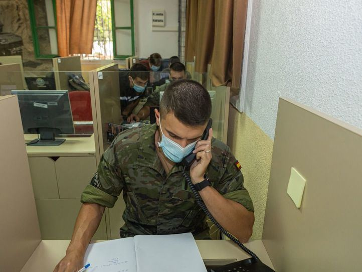 La Comunidad de Madrid cuenta ya con 154 rastreadores militares operativos