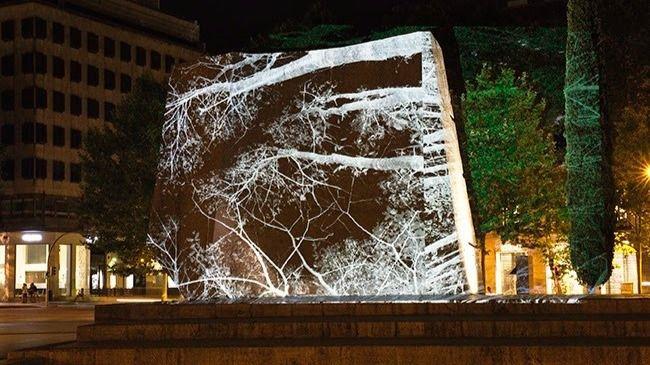 Javier Riera desplegará su obra en la Plaza de Colón