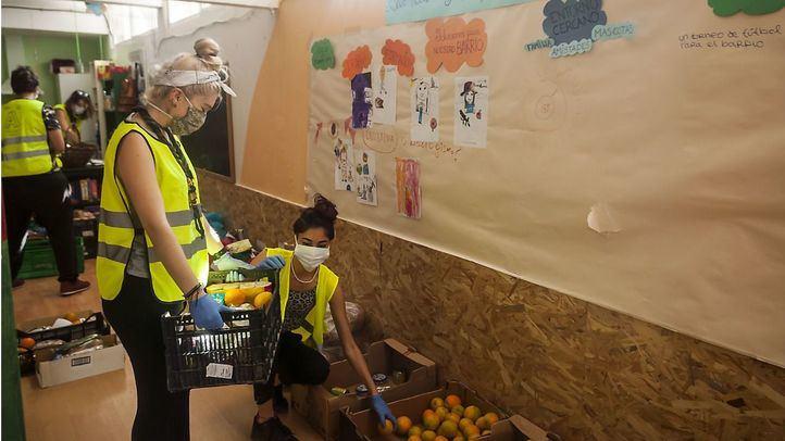 Repunte en las 'colas del hambre' con escasez de donaciones para afrontarlas