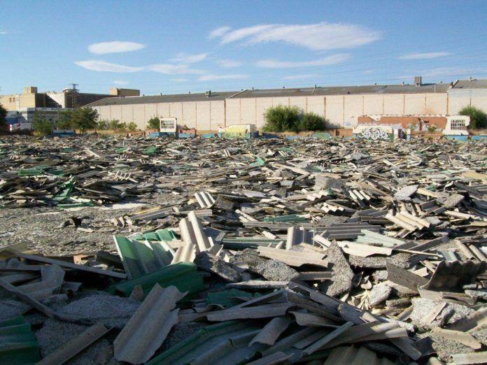 Vertidos ilegales de amianto en Getafe