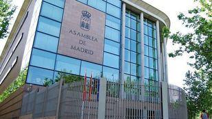 Exterior de la Asamblea de Vallecas.