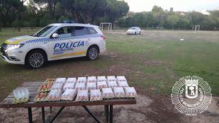 La Policía Municipal requisa 19 docenas de huevos destinados a novatadas en la Complutense