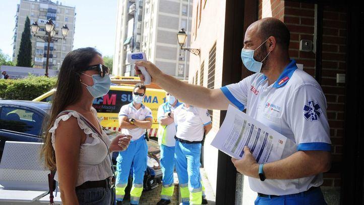 Madrid suma 3.814 casos nuevos, 1.205 de las últimas 24 horas, y 52 fallecidos