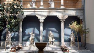 Las esculturas del Fernán Gómez, en el Museo de San Isidro