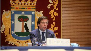 El alcalde madrileño, José Luis Martínez-Almeida